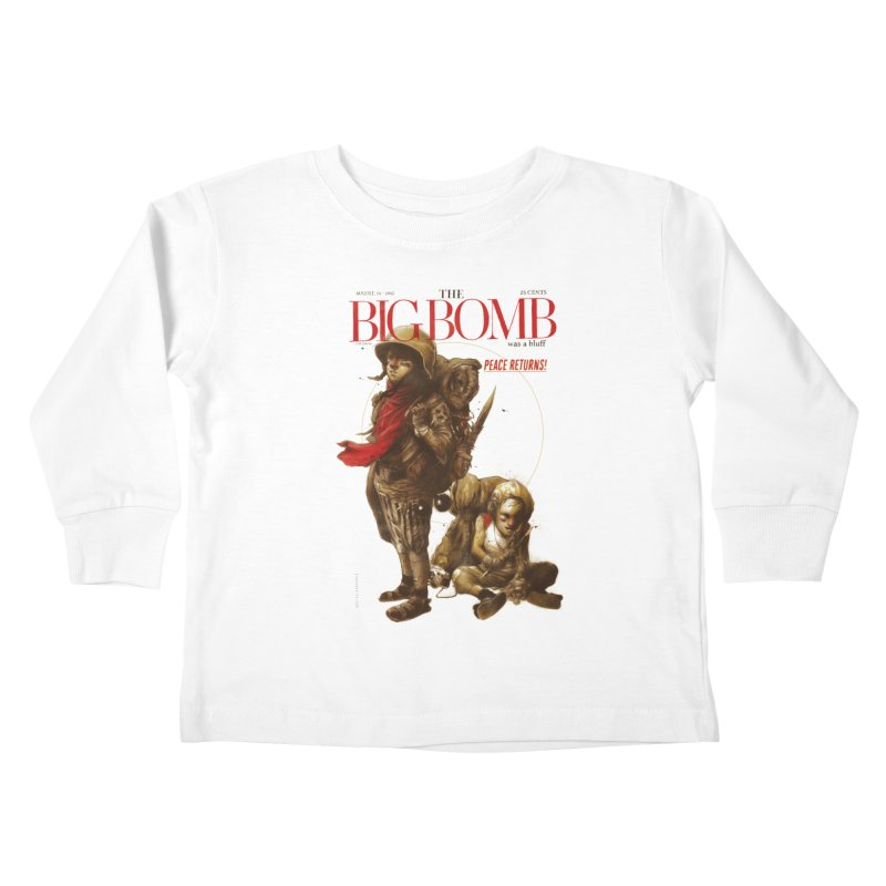Newborn Army Kids Toddler Longsleeve T-Shirt by hafaell's Artist Shop