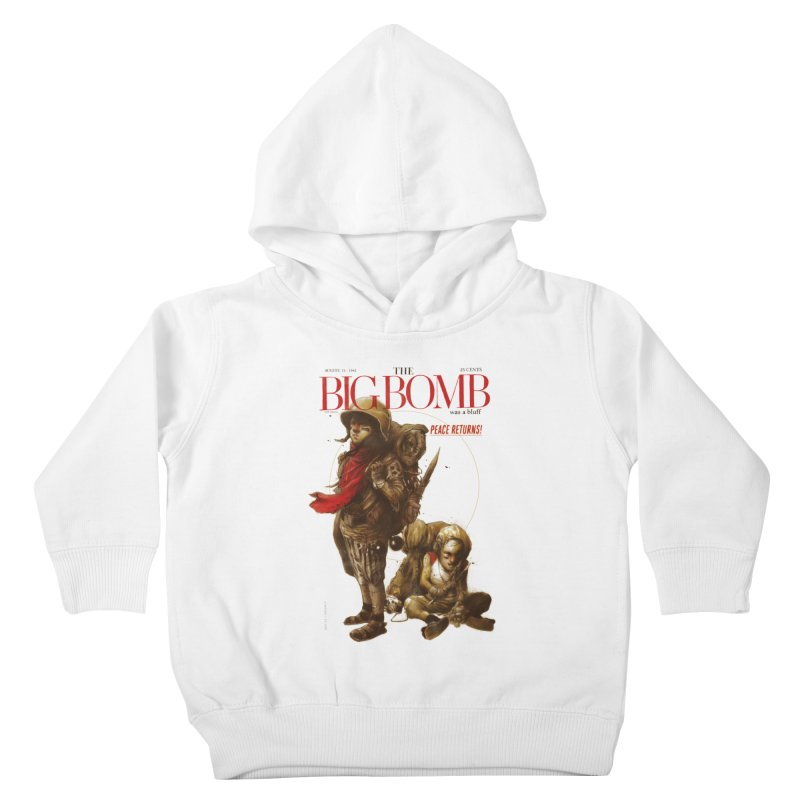 Newborn Army Kids Toddler Pullover Hoody by hafaell's Artist Shop