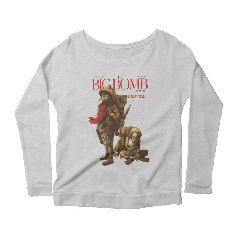 Newborn Army Women's Scoop Neck Longsleeve T-Shirt by hafaell's Artist Shop