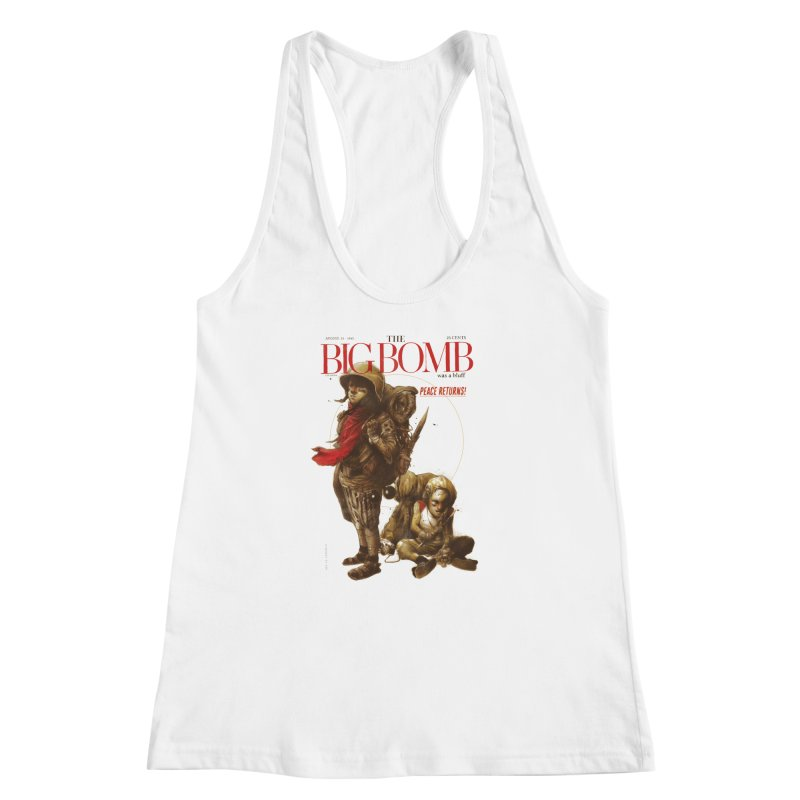 Newborn Army Women's Racerback Tank by hafaell's Artist Shop