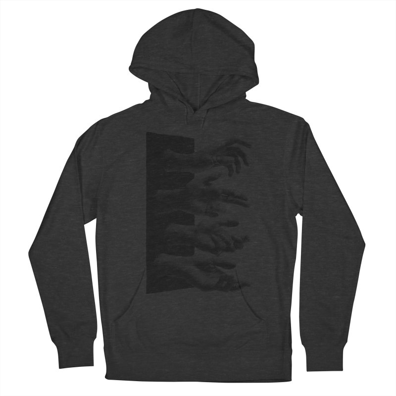 Shy Hands Women's Pullover Hoody by hafaell's Artist Shop