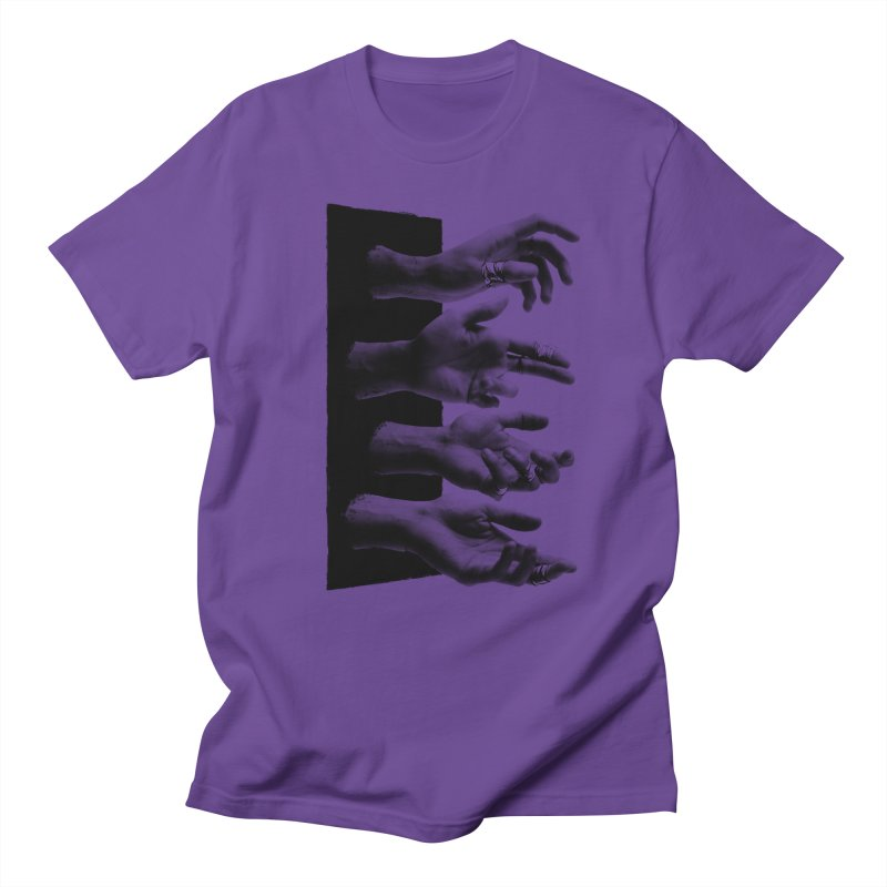 Shy Hands Men's T-shirt by hafaell's Artist Shop