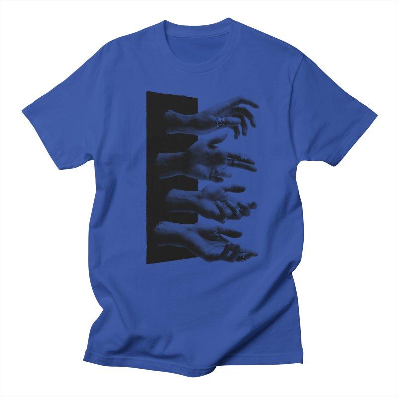 Shy Hands Men's Regular T-Shirt by hafaell's Artist Shop
