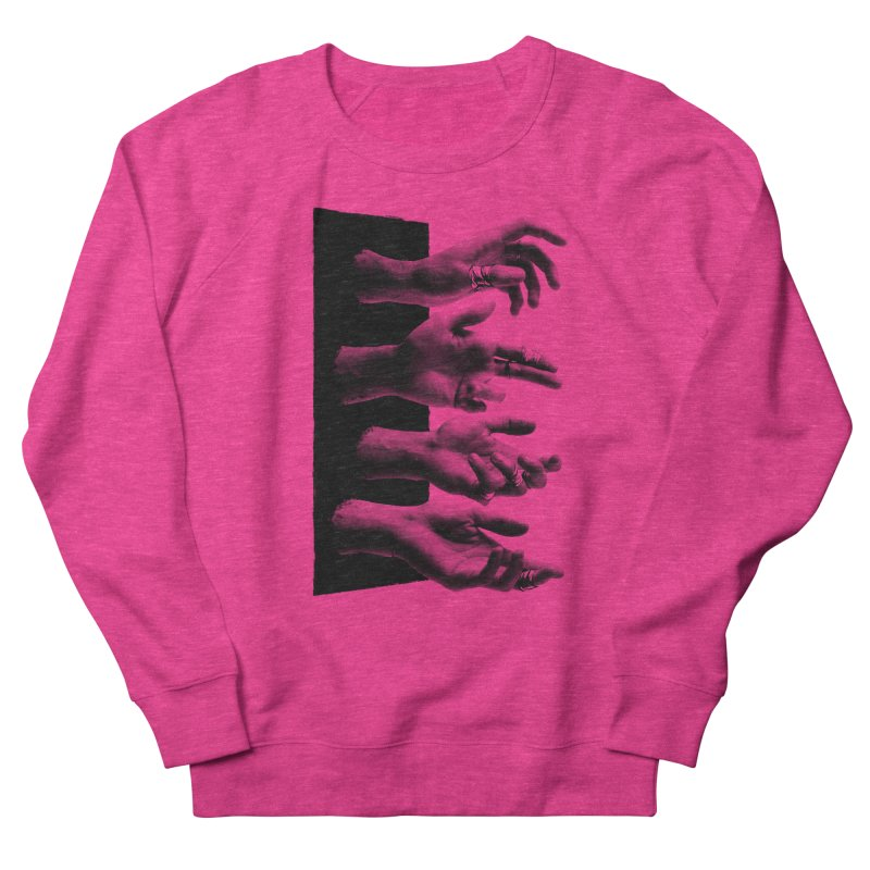 Shy Hands Women's Sweatshirt by hafaell's Artist Shop