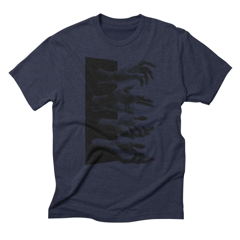 Shy Hands Men's Triblend T-Shirt by hafaell's Artist Shop