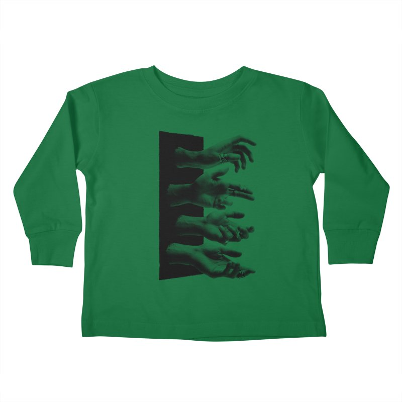 Shy Hands Kids Toddler Longsleeve T-Shirt by hafaell's Artist Shop