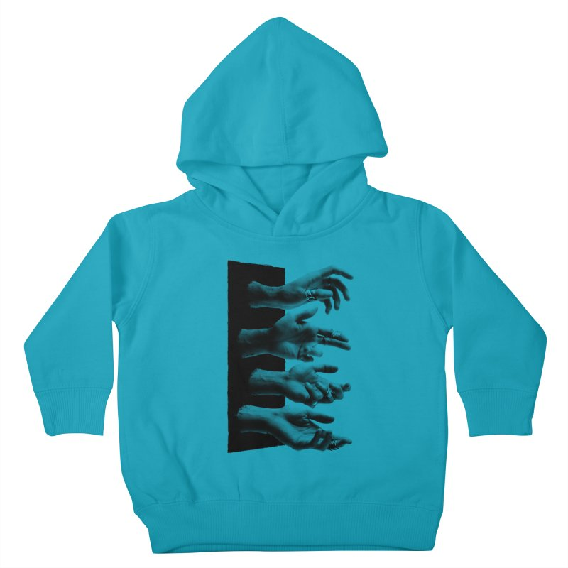 Shy Hands Kids Toddler Pullover Hoody by hafaell's Artist Shop