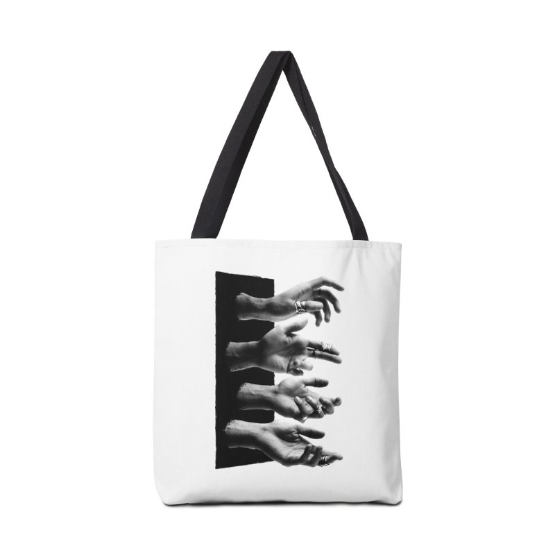 Shy Hands Accessories Tote Bag Bag by hafaell's Artist Shop