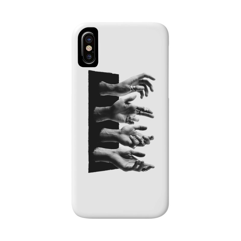 Shy Hands Accessories Phone Case by hafaell's Artist Shop