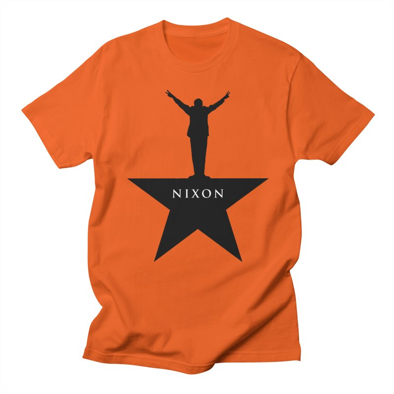 Nixon: An American Musical Men's Regular T-Shirt by Hail to the Tees
