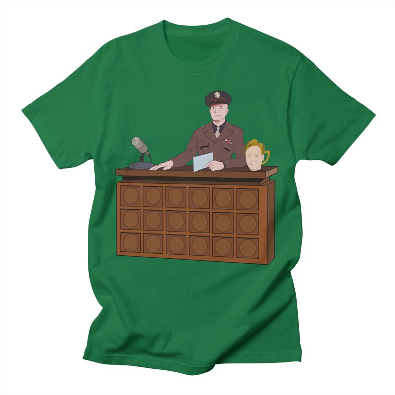 Late Night with Ike Eisenhower Men's T-Shirt by Hail to the Tees