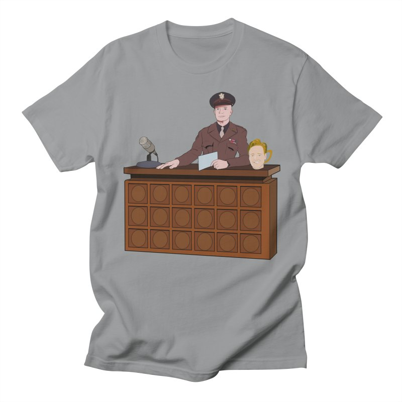 Late Night with Ike Eisenhower Men's Regular T-Shirt by Hail to the Tees