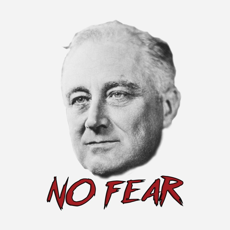 "Franklin Roosevelt - ""No Fear"" by Hail to the Tees"