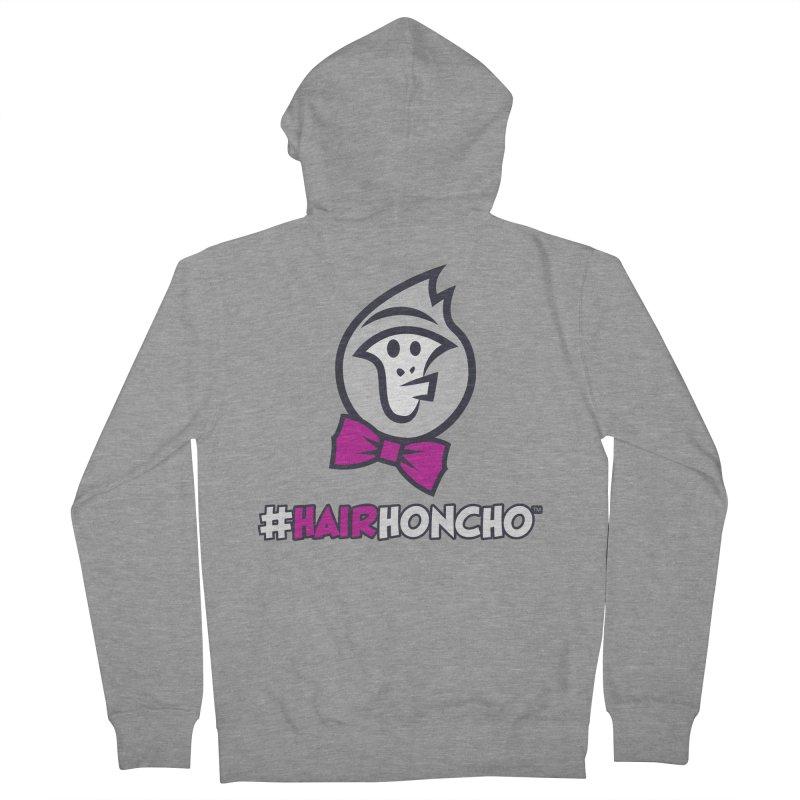 HairHoncho gear Women's French Terry Zip-Up Hoody by Hairhoncho Gear