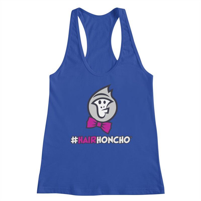 HairHoncho gear Women's Racerback Tank by Hairhoncho Gear