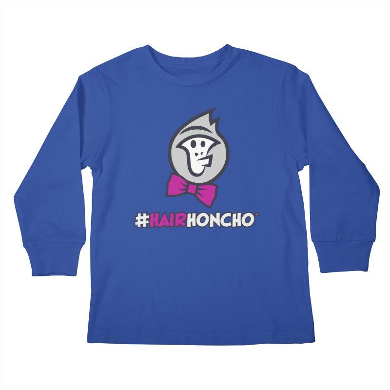 HairHoncho gear Kids Longsleeve T-Shirt by Hairhoncho Gear