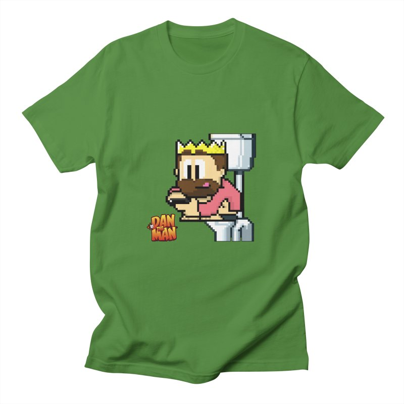 King on Phone Men's T-Shirt by Halfbrick - Official Store