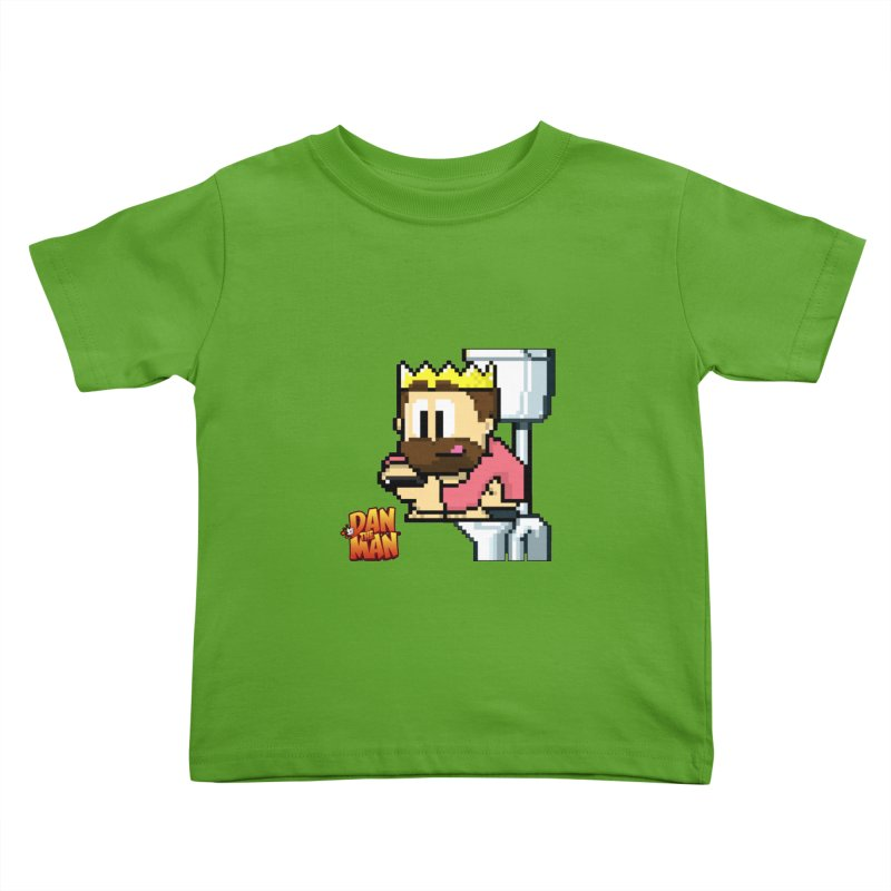 King on Phone Kids Toddler T-Shirt by Halfbrick - Official Store