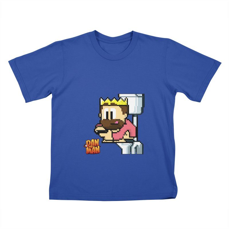 King on Phone Kids T-Shirt by Halfbrick - Official Store