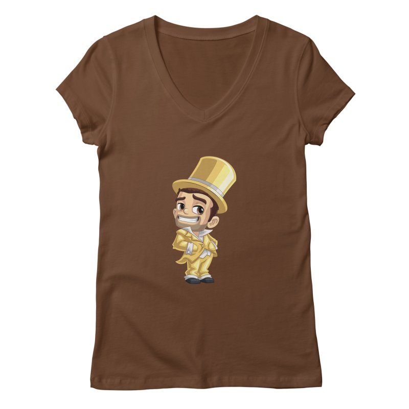 Bling it On Women's V-Neck by Halfbrick - Official Store