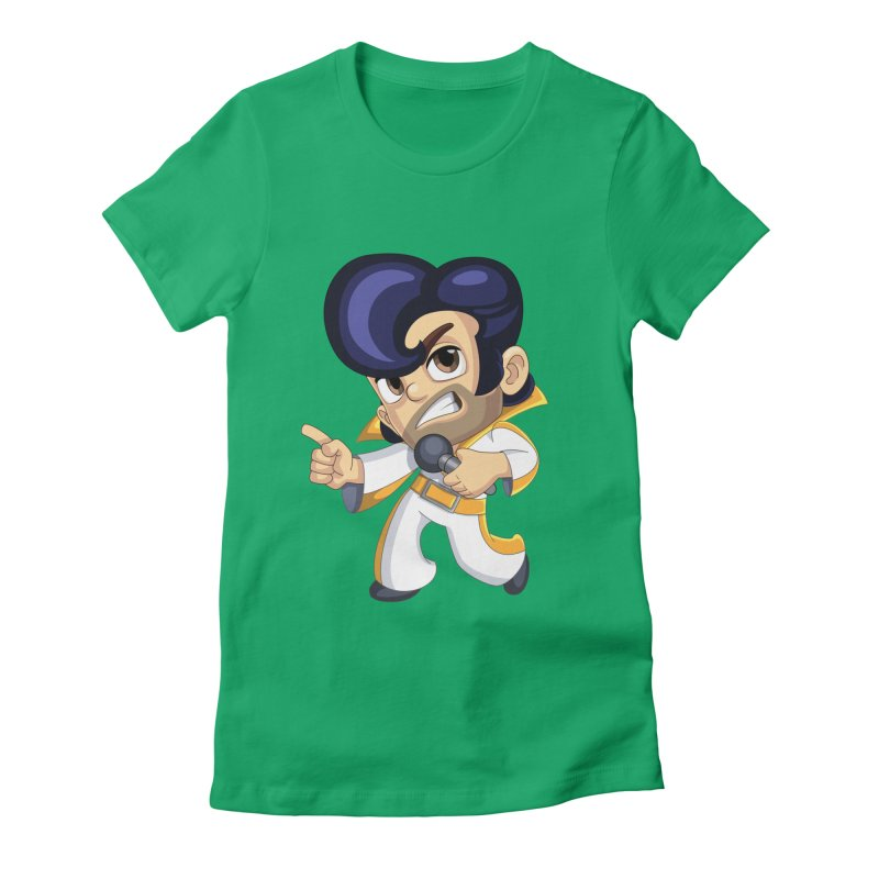 Elvis Barry Women's T-Shirt by Halfbrick - Official Store