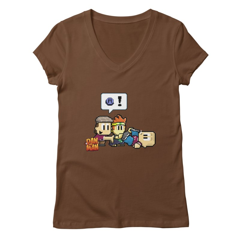 Tutorial Women's V-Neck by Halfbrick - Official Store