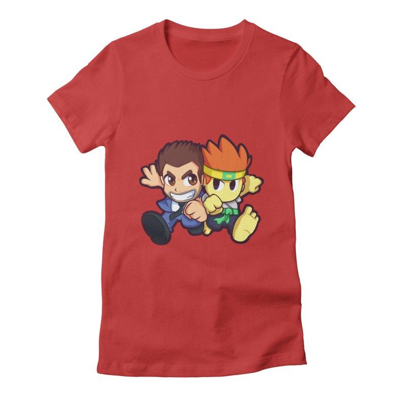 Barry vs Dan Women's T-Shirt by Halfbrick - Official Store