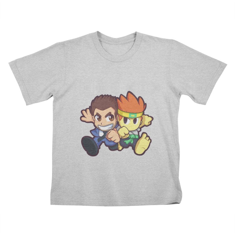 Barry vs Dan Kids T-Shirt by Halfbrick - Official Store