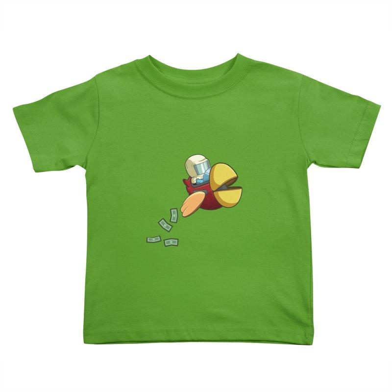 Robot Bird that Shoots Money! Kids Toddler T-Shirt by Halfbrick - Official Store