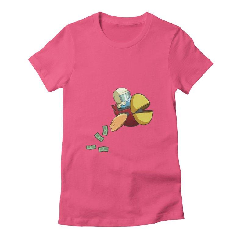 Robot Bird that Shoots Money! Women's T-Shirt by Halfbrick - Official Store