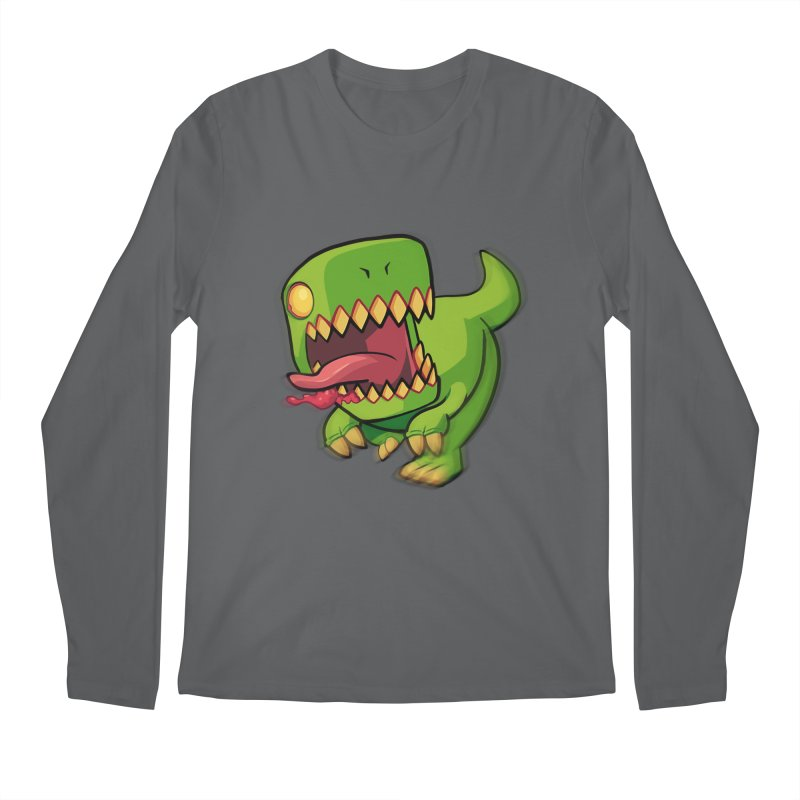 Zombie TREX Men's Longsleeve T-Shirt by Halfbrick - Official Store