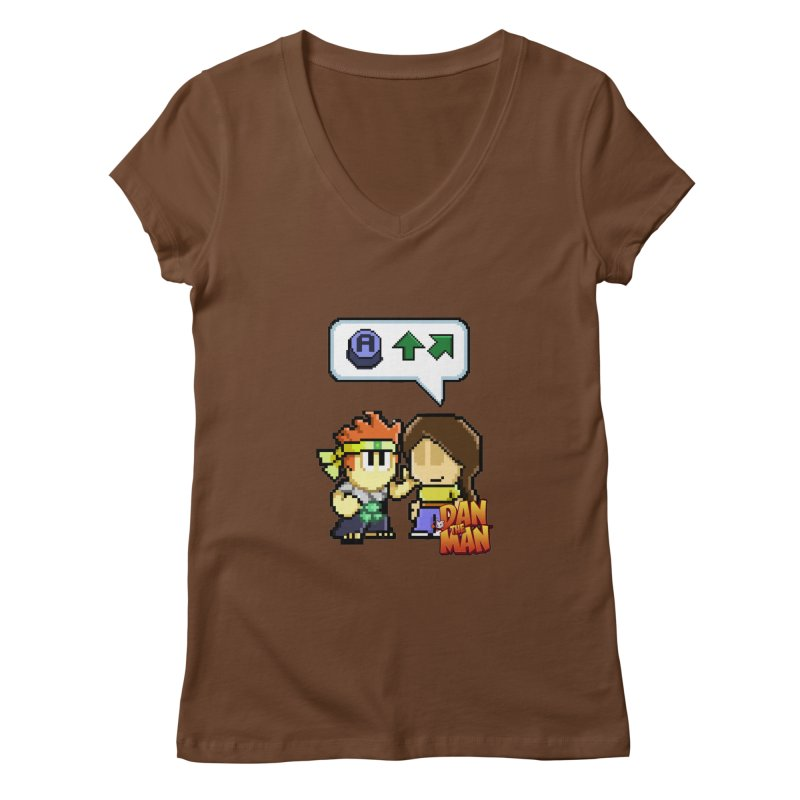 Cheat Code Women's V-Neck by Halfbrick - Official Store