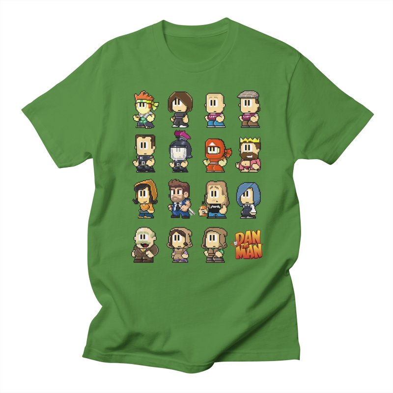 Good Guys.  Bad Guys. in Men's Regular T-Shirt Clover by Halfbrick - Official Store
