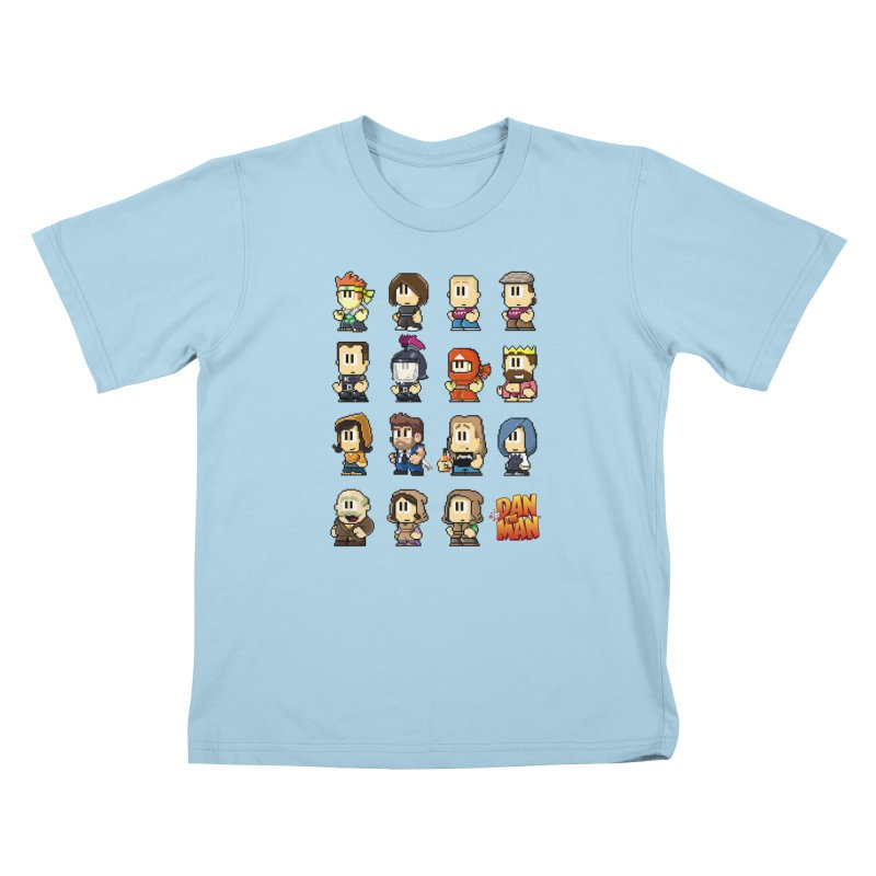 Good Guys.  Bad Guys. Kids T-Shirt by Halfbrick - Official Store