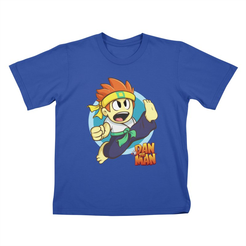 Classic Dan Kids T-Shirt by Halfbrick - Official Store
