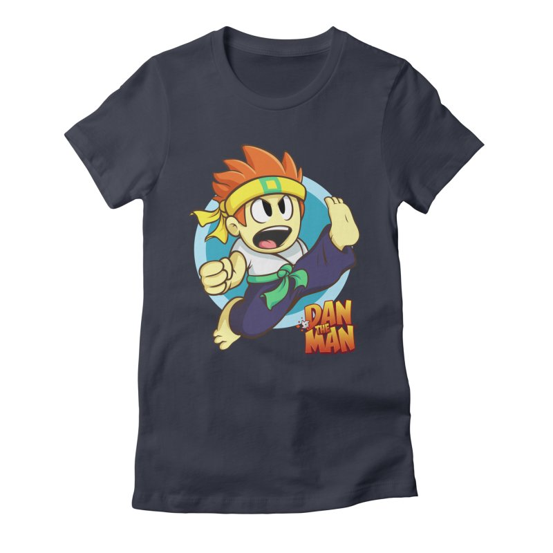 Classic Dan Women's T-Shirt by Halfbrick - Official Store