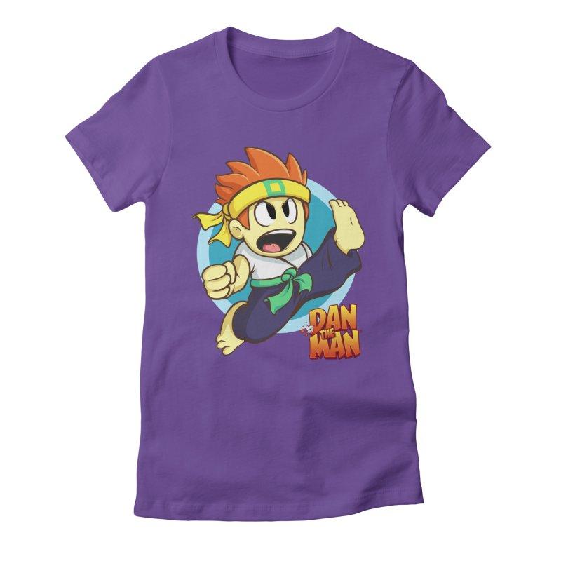 Classic Dan Women's T-Shirt by Halfbrick - Official Store