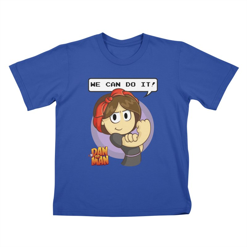 Josie Can Do It! Kids T-shirt by Halfbrick - Official Store