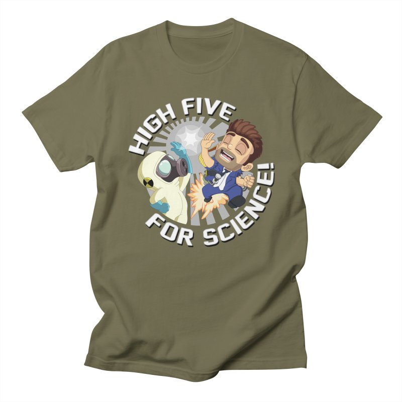 High Five for Science! Men's T-Shirt by Halfbrick - Official Store