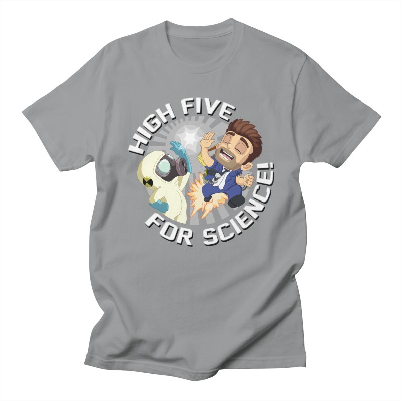 High Five for Science! Men's Regular T-Shirt by Halfbrick - Official Store