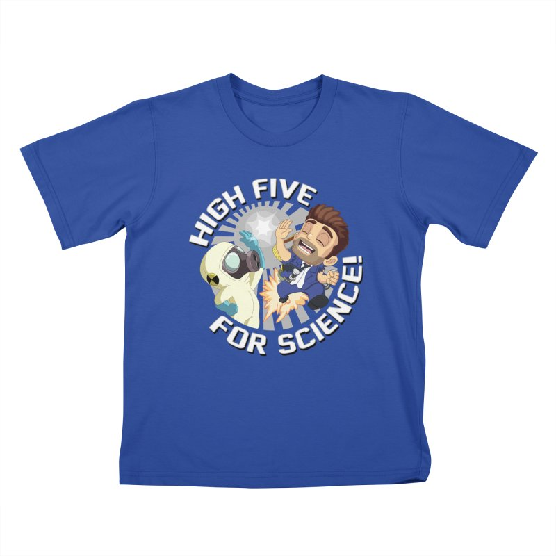 High Five for Science! Kids T-Shirt by Halfbrick - Official Store