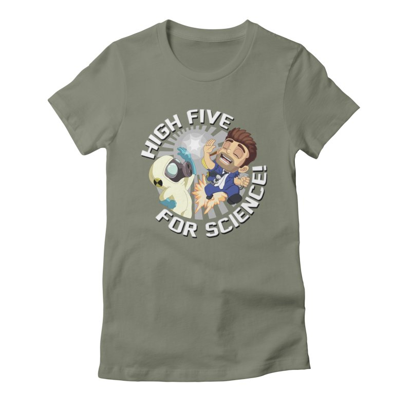 High Five for Science! Women's T-Shirt by Halfbrick - Official Store