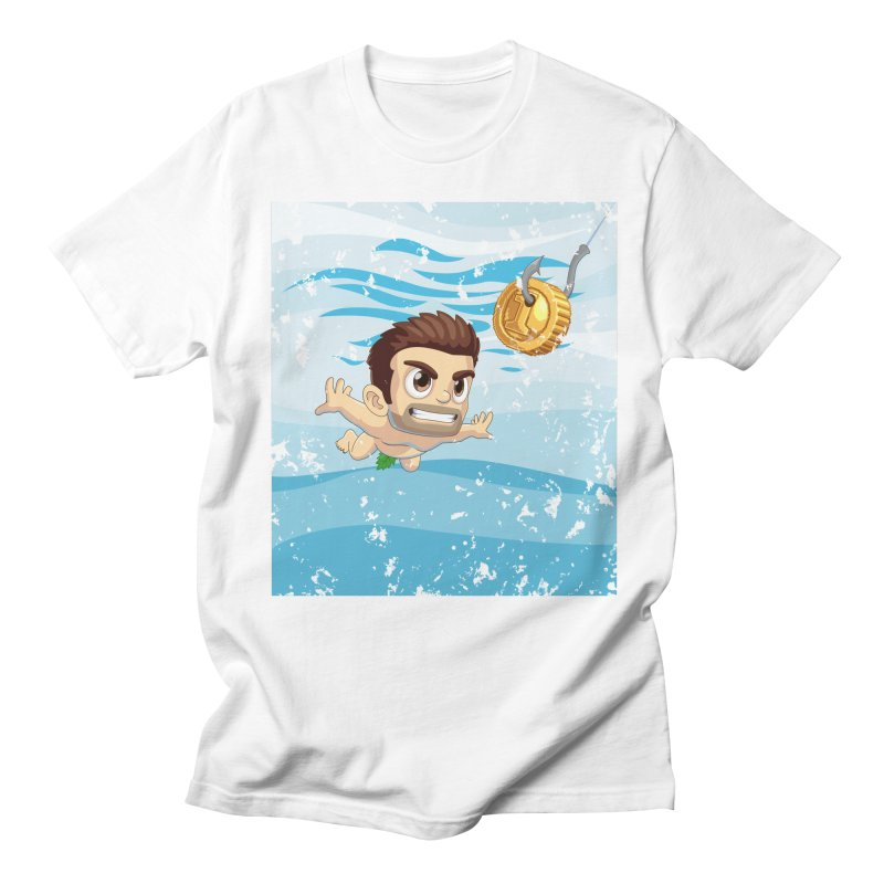Nevermind in Men's Regular T-Shirt White by Halfbrick - Official Store