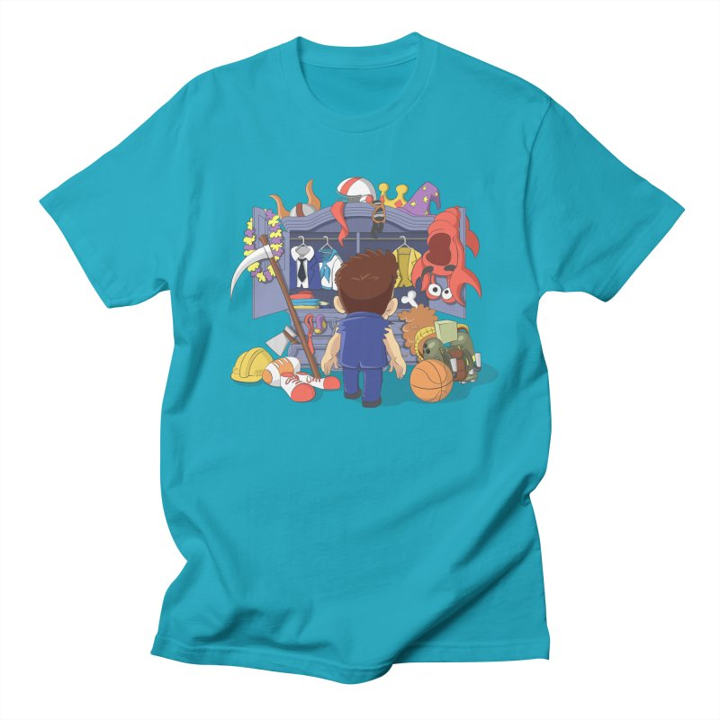 Barry's Stash in Men's Regular T-Shirt Cyan by Halfbrick - Official Store