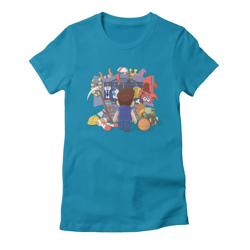 Barry's Stash Women's Fitted T-Shirt by Halfbrick - Official Store