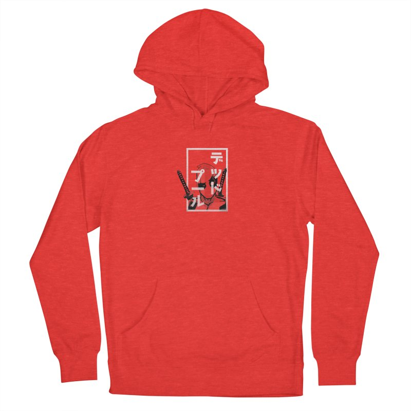 Deadpool - Say what? Men's Pullover Hoody by halfcrazy designs