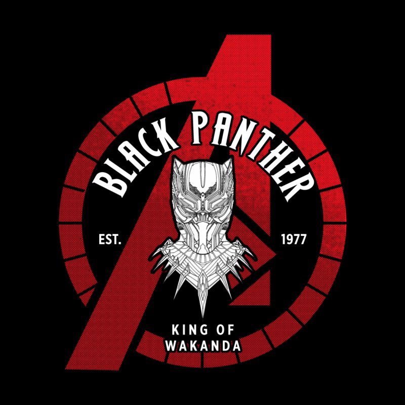 Avengers Assemble: King Of Wakanda Men's T-Shirt by halfcrazy designs