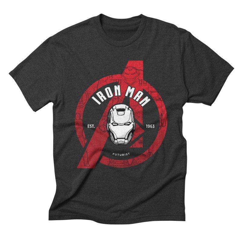 Avengers Assemble: Iron Avengers Men's T-Shirt by halfcrazy designs