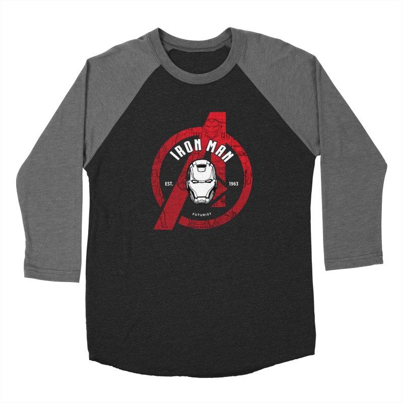 Avengers Assemble: Iron Avengers Women's Longsleeve T-Shirt by halfcrazy designs