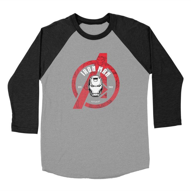 Avengers Assemble: Iron Avengers Men's Longsleeve T-Shirt by halfcrazy designs